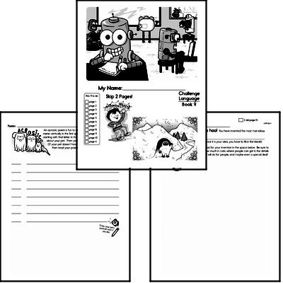 Third Grade Language Challenge Workbooks