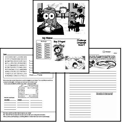 English Grammar Challenge Book # 9