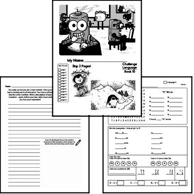 English Grammar Challenge Book # 10