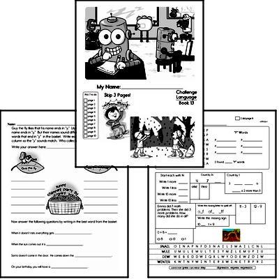March Language Challenge Book #1