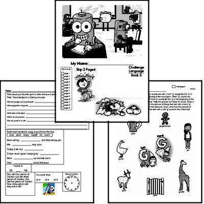 English Grammar Challenge Book # 5