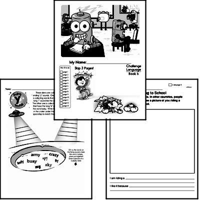 English Grammar Challenge Book # 6