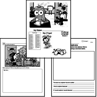 Language Challenge Workbooks and Worksheets