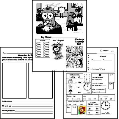 1st grade Common Core PDF Worksheets You'd Want to Print