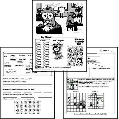 Fifth Grade Language Challenge Workbooks