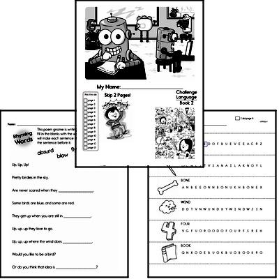 September Language Challenge Book #2