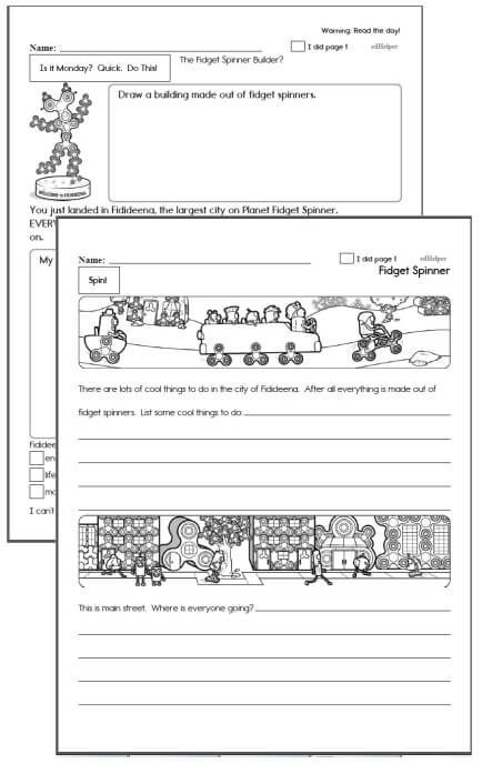 6th grade Workbooks for May