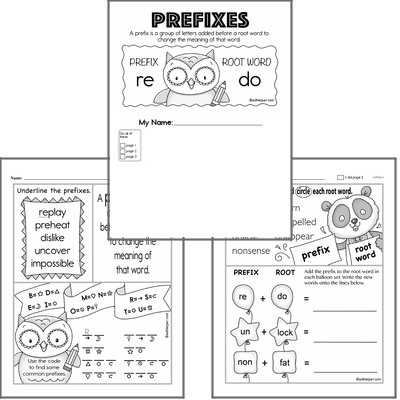 Introduction to Prefixes Workbook