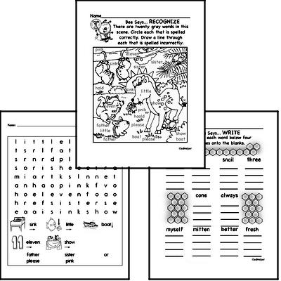 May Spelling<BR>Word Study Workbook<BR>for First Graders