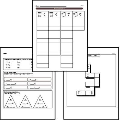 September Spelling<BR>Word Study Workbook<BR>for First Graders