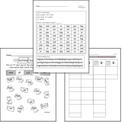 November Spelling<BR>Word Study Workbook<BR>for Kindergarteners