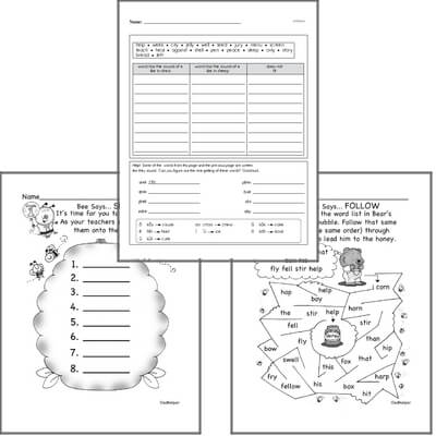 December Spelling<BR>Word Study Workbook<BR>for First Graders
