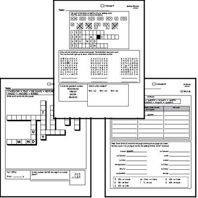 Fifth Grade Spelling List and Workbook (December book #3)<BR>Week of December 17