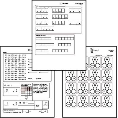 Third Grade Spelling List and Workbook (June book #2)<BR>Week of June 10