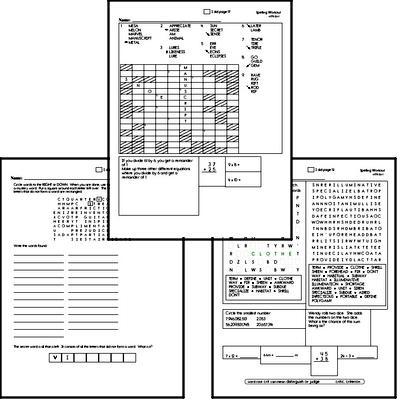 Sixth Grade Spelling List and Workbook (June book #3)<BR>Week of June 17