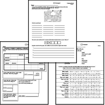 High School Spelling List and Workbook (July book #1)<BR>Week of July 1