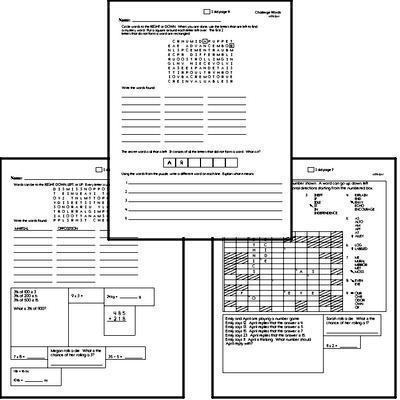 High School Spelling List and Workbook (September book #5)<BR>Week of September 30