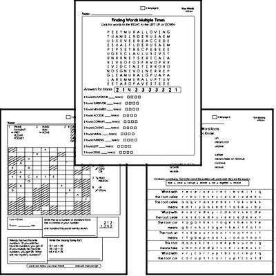 Fifth Grade Spelling List and Workbook (October book #4)<BR>Week of October 28