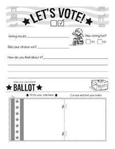 Voting Lesson - Learn to register to vote.