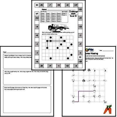 Weekly Math Worksheets for November 4