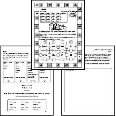 Weekly Math Workbook #10