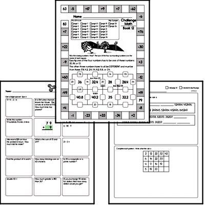 Weekly Math Workbook #12
