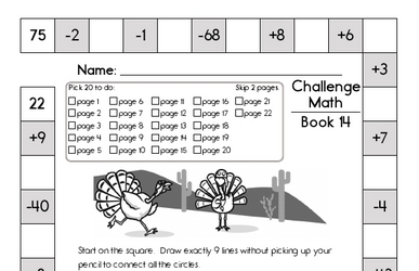 Weekly Math Worksheets for December 2