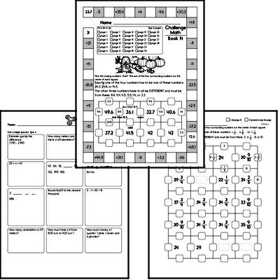 Weekly Math Workbook #14