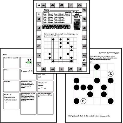 Weekly Math Worksheets for December 9