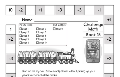 Weekly Math Worksheets for January 1