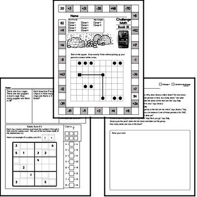 Weekly Math Workbook #18