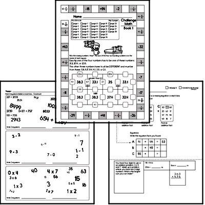 Weekly Math Worksheets for Sixth Graders