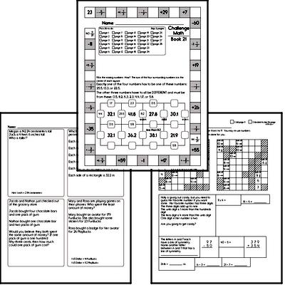 Weekly Math Workbook #21