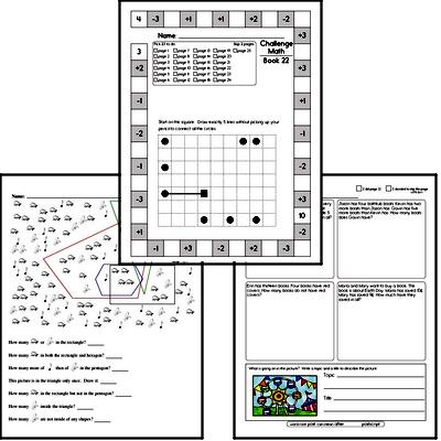 Weekly Math Workbook #22