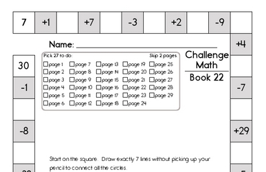 Weekly Math Worksheets for January 27