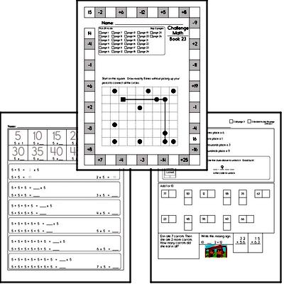 Weekly Math Workbook #23