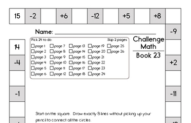 Weekly Math Worksheets for February 3