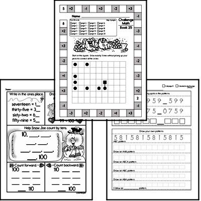 Weekly Math Workbook #25