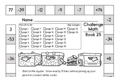 Weekly Math Worksheets for February 17