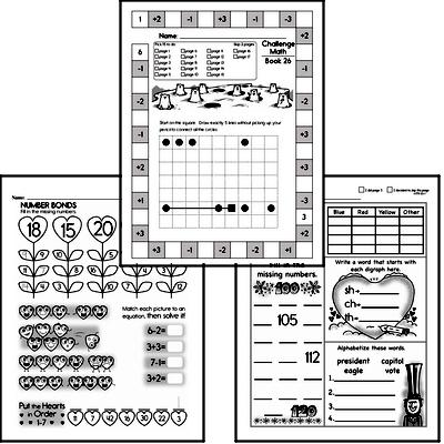 Weekly Math Workbook #26
