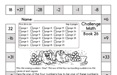 Weekly Math Worksheets for February 28