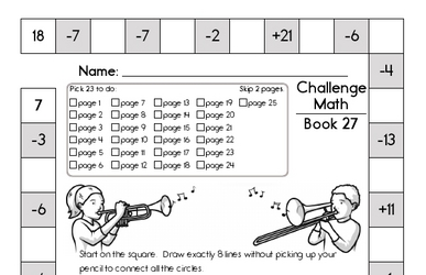 Weekly Math Worksheets for March 7