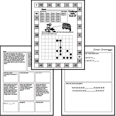 Weekly Math Workbook #27