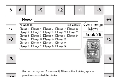 Weekly Math Worksheets for March 14