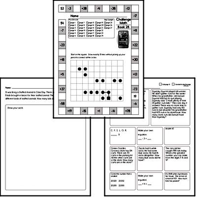 Weekly Math Workbook #28