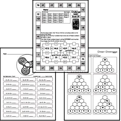 Weekly Math Workbook #29