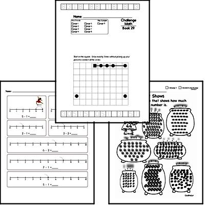 Weekly Math Worksheets for March 15