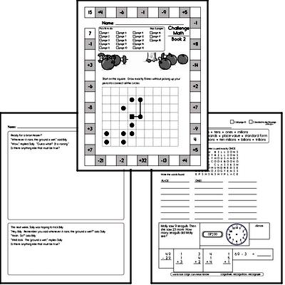 Weekly Math Workbook #2