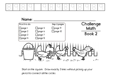 Weekly Math Worksheets for September 9