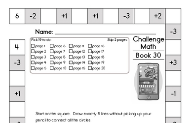Weekly Math Worksheets for March 23